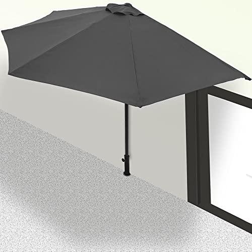Balkon Sonnenschirm Terrassenschirm - 9