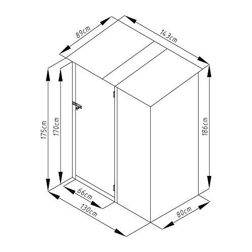 Geräteschuppen Metall - 4