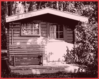 2 raum gartenhaus