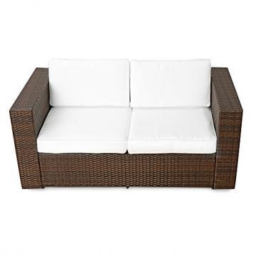 2er Polyrattan Lounge Sofa-190422115516