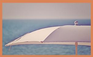 balinesischer sonnenschirm