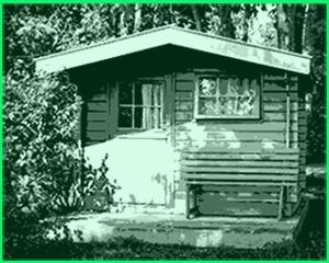 bear county gartenhaus