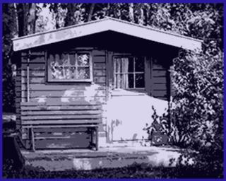 blech gartenhaus