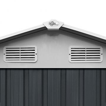 Deuba XXXL Metall Gerätehaus-190420132753