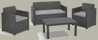 dining lounge polyrattan