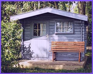 einfache holzfenster für gartenhaus