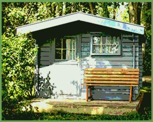 farbe gartenhaus