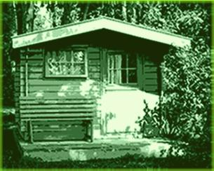 fünfeck gartenhaus