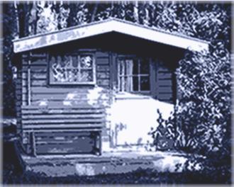 gartenhaus 28 mm pultdach
