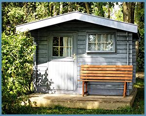 gartenhaus 2x2