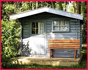 gartenhaus mit anbau