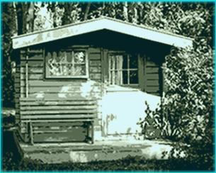 gartenhaus modern