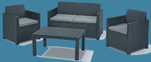 polyrattan loungemöbel
