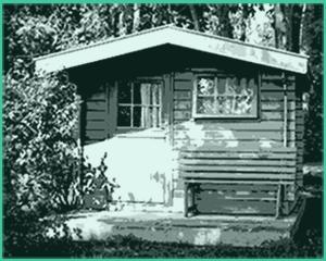 schiebetür gartenhaus