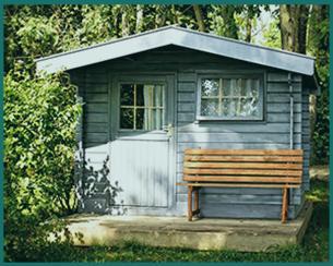 schwedenrot gartenhaus