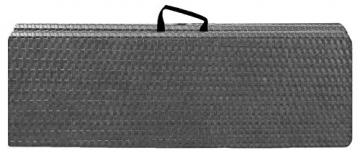 Sitzbank klappbar - Moderne Rattan-Optik-190422121216
