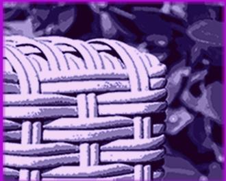 sitzecke garten rattan
