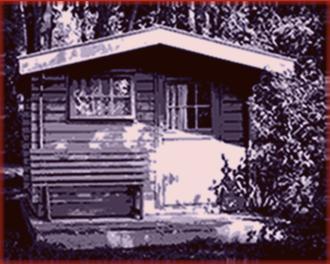 türschloss gartenhaus